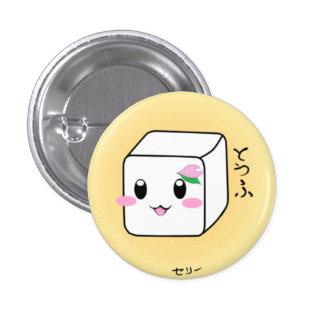 Cute Tofu Button