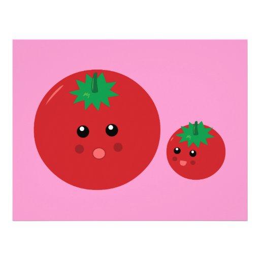 Cute Tomato Letterhead