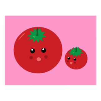 Cute Tomato Postcard