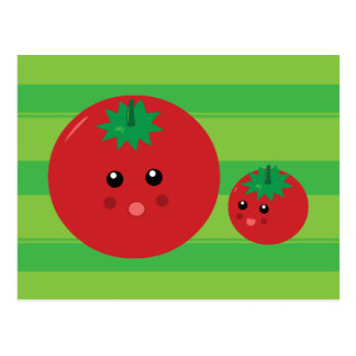 Cute Tomato Post Cards