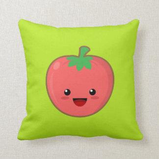 Cute Tomato Throw Pillow