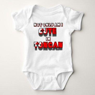 MaddGraphics Cute Tongan kid1 Baby Bodysuit