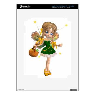 Cute Toon Easter Fairy - 1 iPad 3 Skin