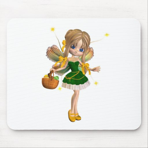 Cute Toon Easter Fairy - 1 Mouse Pad