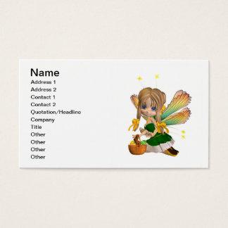 Cute Toon Easter Fairy Business Card