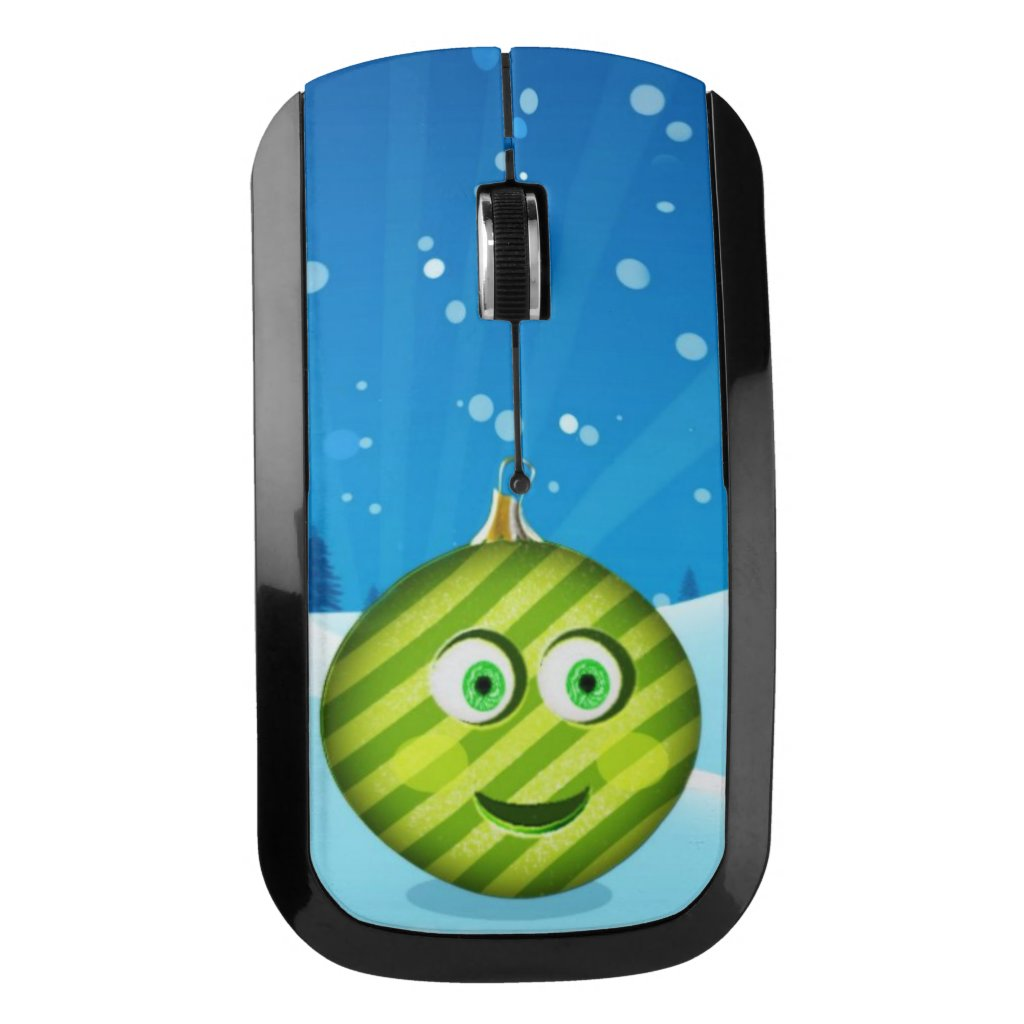 Cute toon ornament wireless mouse