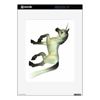 Cute Toon Unicorn Decal For iPad