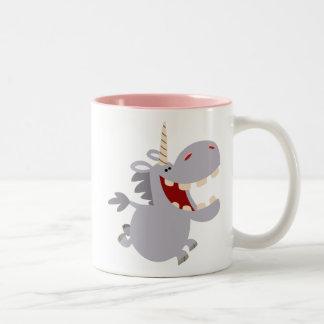 Cute Toothy Cartoon Unicorn Mug