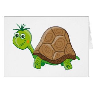 Cute Tortoise greeting card