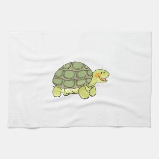 Cute tortoise hand towel