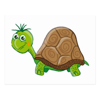 Cute Tortoise - postcard