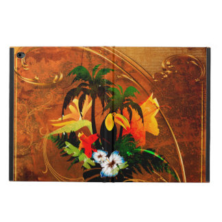 Cute toucan with flowers powis iPad air 2 case