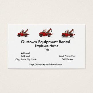 Cute Tow Truck Wrecker Business Card
