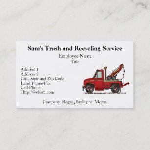 Mail truck business cards zazzle cute tow truck wrecker business card colourmoves