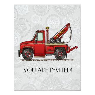 Cute Tow Truck Wrecker Card
