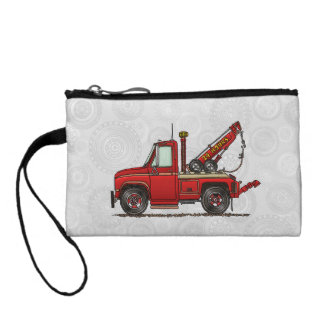 Cute Tow Truck Wrecker Coin Purse