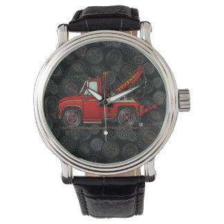 Cute Tow Truck Wrecker Wrist Watch