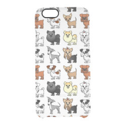 Uncommon iPhone 6 Clearly™ Deflector Case with Pomeranian Phone Cases design