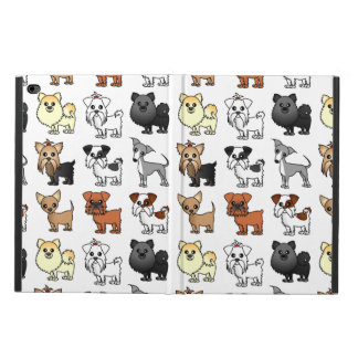 Cute Toy Dog Breed Pattern Powis iPad Air 2 Case
