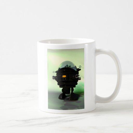 Cute Toy Planet Robot Mug
