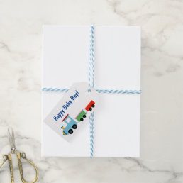 Cute Toy Train Gift Tags