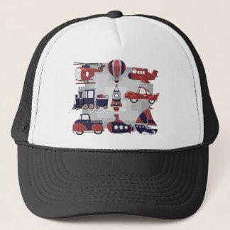Cute Transport Trucker Hat
