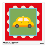 Cute Transportation Theme Nursery Kids Wall Decals