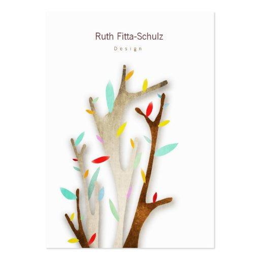 Cute Tree Business Cards