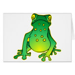 Cute Tree Frog Cards