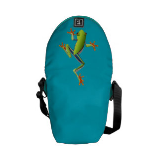 Cute Tree Frog Courier Bag