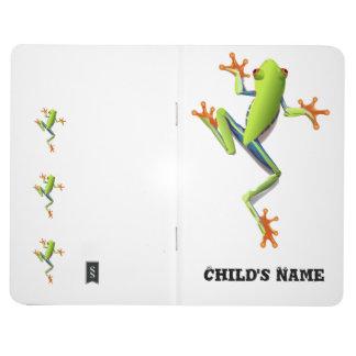 Cute Tree Frog Journal