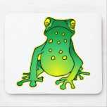 Cute Tree Frog Mouse Pads
