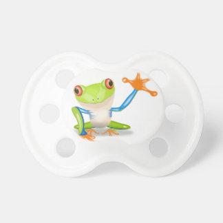 Cute Tree Frog Pacifiers