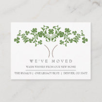 Cute Tree New Home Moving Announcement