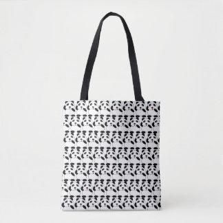 Cute trendy baby panda tote bag
