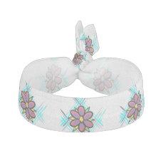 Cute trendy design hair elastic/bracelet ribbon hair tie
