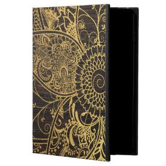 Cute trendy flower henna hand drawn design powis iPad air 2 case