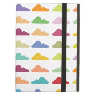 Cute Trendy Fluffy Cloud Pattern Case For iPad Air