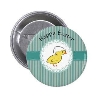 Cute Trendy  girly  fun cartoon chicken 2 Inch Round Button