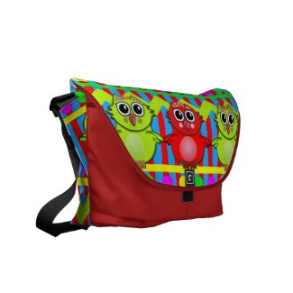 Cute trendy, Messenger bag with patterns and Owls