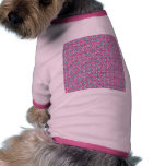 Cute Trendy Scribble Bows Doggie Tshirt