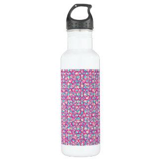 Cute Trendy Scribble Bows 24oz Water Bottle