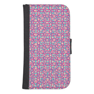 Cute Trendy Scribble Bows Phone Wallets
