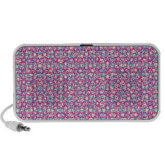 Cute Trendy Scribble Bows Notebook Speakers