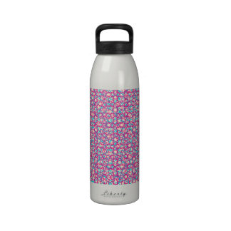 Cute Trendy Scribble Bows Reusable Water Bottle