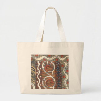 Cute Tribal ethnic decorative African Product Large Tote Bag