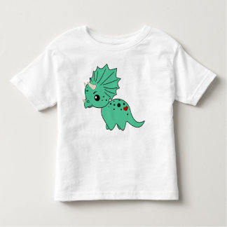 Cute triceratops - T-short Toddler T-shirt