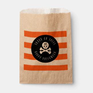 Cute Trick or Treat Halloween Favor Bags