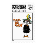 Cute Trick-or-Treat Stamps