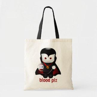 Cute Trick-or-Treating Vampire Bags